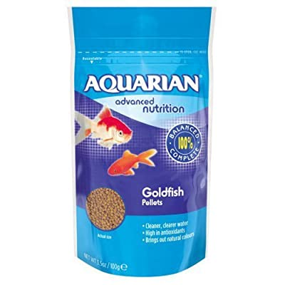 Aquarian Goldfish Pellet, 100 g