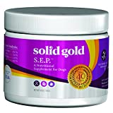 Solid Gold S.E.P (Stop Eating Poop) Coprophagia Supplement Powder for Dogs, All Ages, All Sizes, 3.5 oz Tub