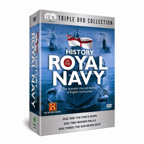 History of the Royal Navy (3-Disc Box Set) [DVD]
