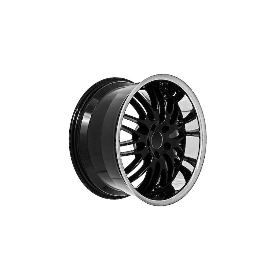 18 Black Mercedes Benz Wheels Rims Chrome Lip (set of 4)