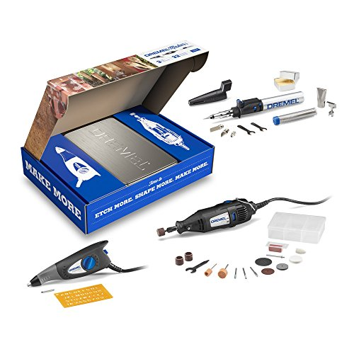 Dremel-2290-3-Tool-Craft-Hobby-Maker-Kit-with-200-Series-Rotary-Tool-Engraver-Butane-Soldering-Torch