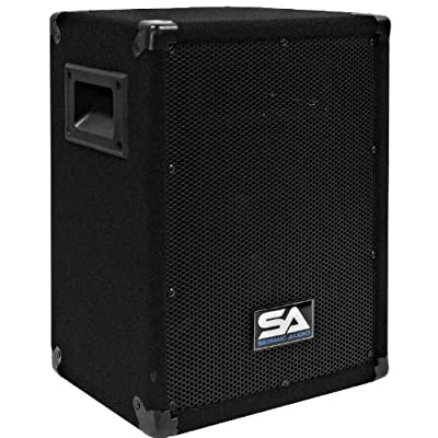 Seismic Audio - 8 Inch PA DJ Pro Audio Band Speaker 75 Watts - Use as a Main or a Monitor - Karaoke