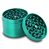 DCOU-Zinc-Alloy-Tobacco-Grinder-Spice-Grinder-Herb-Grinder-Weed-Grinder-with-Magnetic-Cover-Sifter-and-Pollen-Scraper-4-Piece-214