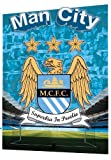 GB eye Ltd, 3d Lenticular Poster, Manchester City, Crest, (47x67cm)