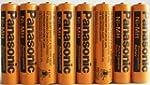 8 Pack Panasonic NiMH AAA Rechargeabl...