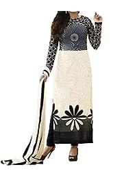 Lady Loop Women's Faux Crepe Salwar Suit Dress Material - B01NA08EEO