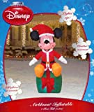 Disney Mickey on existing 4 foot Christmas Inflatable