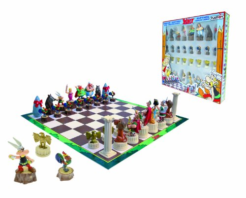 Plastoy Asterix Chess Set