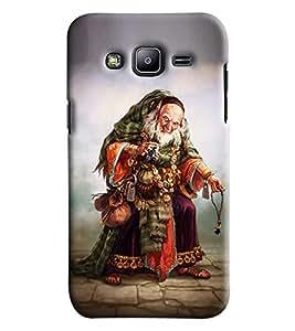 Omnam Old Man Printed Designer Back Cover Case For Samsung Galaxy J2