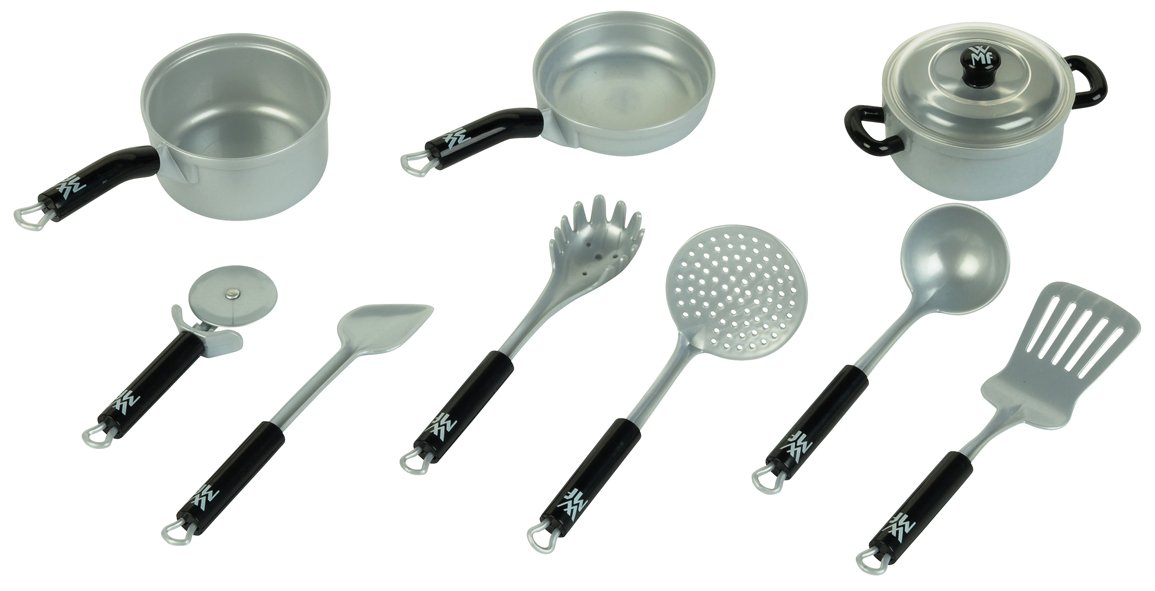 Kinder kochgeschirr kinderk che kaufen for Set de utensilios de cocina facusa