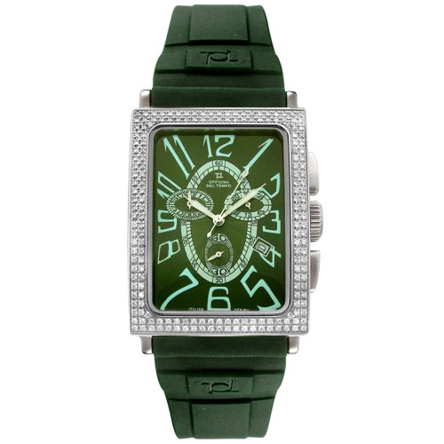Officina del Tempo Men's Agadir Diamond Watch #OTD108/01SGCG - Buy Officina del Tempo Men's Agadir Diamond Watch #OTD108/01SGCG - Purchase Officina del Tempo Men's Agadir Diamond Watch #OTD108/01SGCG (Officina del Tempo, Jewelry, Categories, Watches, Men's Watches, Dress Watches, Rubber Banded)