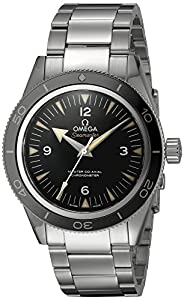 Omega Men's 23330412101001 Seamaster300 Analog Display Swiss Automatic Silver Watch