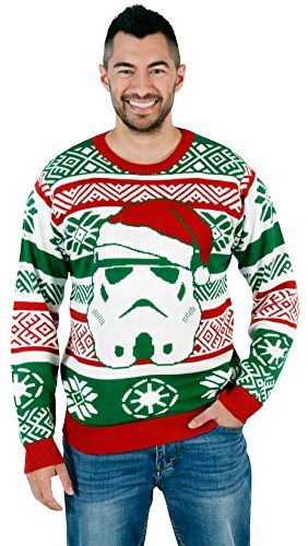 Santa Stormtrooper Ugly Christmas Sweater