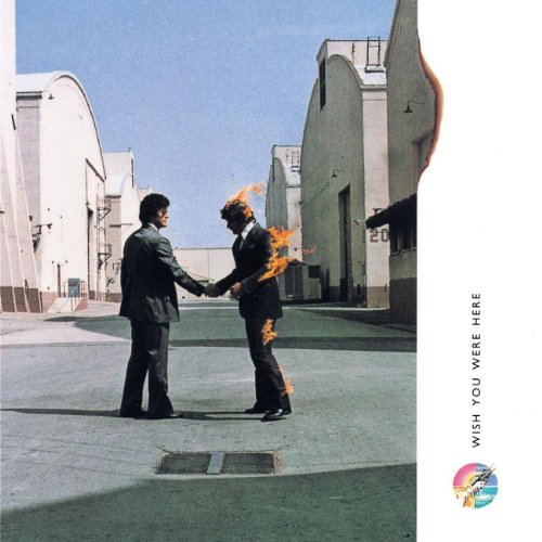 Original album cover of Wish You Were Here by Pink Floyd