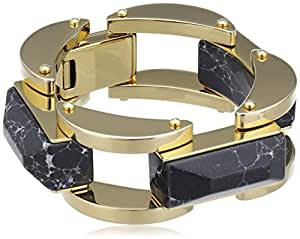Lele Sadhoughi 14ct Gold Plated Brass Milky Way 7 1/4 Inch Bracelet of 19.5cm