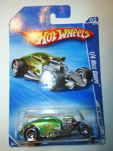 Hot Wheels 1/4 Mile Coupe HW Hot Rods 2/10 138/214 2010
