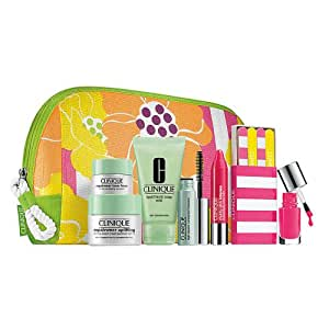 Clinique 2013 Summer 8 Pieces Gift set Skincare Makeup Repairwear Cream Eye Chubby Stick Lip Defffernt Nail