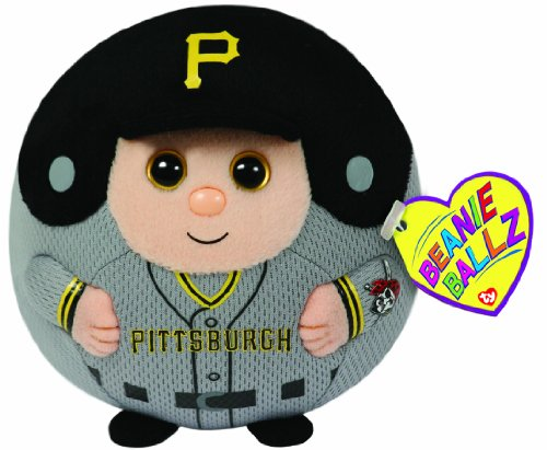 Ty Beanie Ballz MLB Pittsburgh Pirates Plush