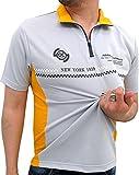 (コスビー) cosby Tシャツ メンズ 半袖 ハーフジップ ドライ 吸汗速乾 ロゴ プリント 4color