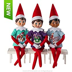 Elf on the Shelf Claus Couture Sweet Tees Multipack