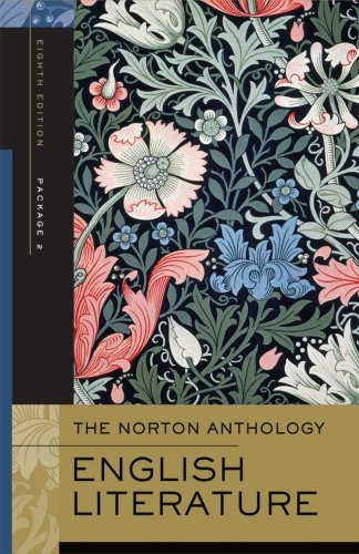 The Norton Anthology of English Literature, Volumes D-F:...