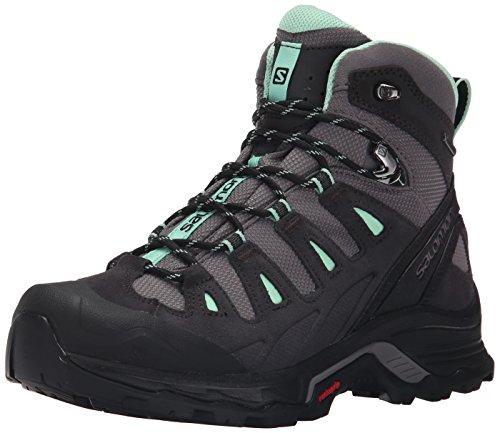 Salomon-Damen-Quest-Prime-Gtx-Trekking-Wanderstiefel-Schwarz-DetroitAsphaltLucite-Green-38-23-EU