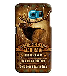 Clarks Printed Designer Back Cover For Samsung Galaxy S7