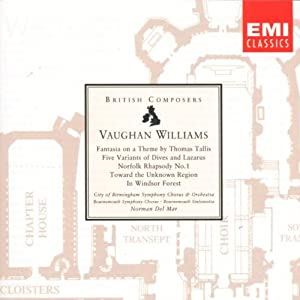 Vaughan Williams: Fantasia on a Theme by Thomas Tallis / Five Variants of Dives and Lazarus