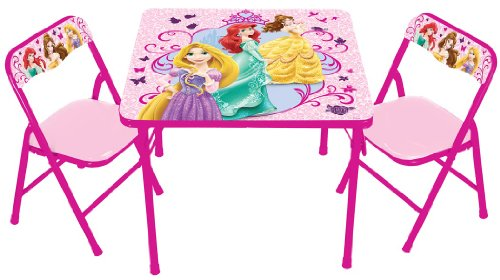 Disney True Princess with Activity Table Set (Princess Table compare prices)