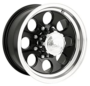 Ion Alloy 171 Black Wheel with Machined Lip (20×9″/5×139.7mm)