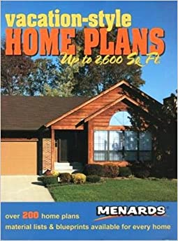 Vacation style home plans up to 2600 sq ft over 200 for House plans with material list