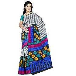 Pawan Tex Bhagalpuri sree for women's (Bhagalpurimix06_multi color)
