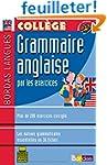 Bordas langues : Grammaire anglaise p...