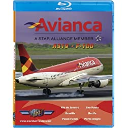 Avianca Airbus A319 & Fokker 100 [Blu-ray]