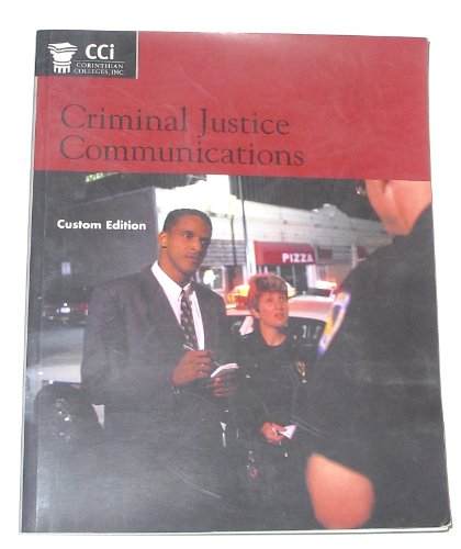 Criminal Justice Communications