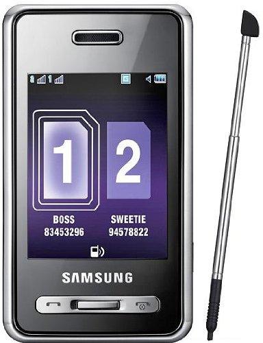 Samsung SGH-D980 DuoS Black Original (EU-Version)
