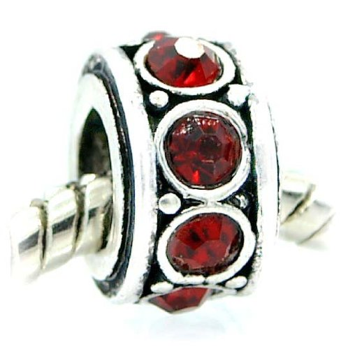 Birthstone Spacer Bead