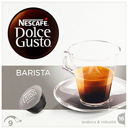 Find Nescafé Dolce Gusto Barista Coffee pods (Pack of 3, Total 48 Capsules, 48 servings) from Nestle