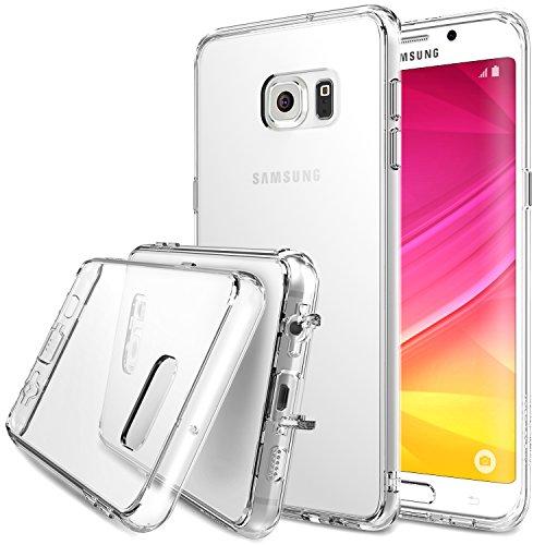 Galaxy S6 Edge Plus Custodia , Ringke FUSION [Crystal View] *** Tutto Nuovo Polvere Berretto & Attivo Toccare Tecnologia*** Cristallo Chiaro Assorbimento urti TPU Goccia Protezione Premio Chiaro Forte Indietro [Antistatico][Resistente Ai Graffi] per Samsung Galaxy S6 Edge+ / Plus - Eco/DIY Pacchetto