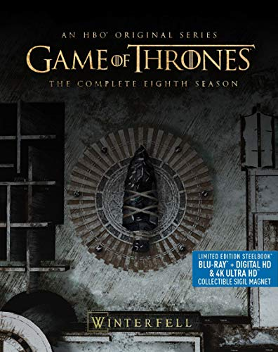 4K Blu-ray : Game Of Thrones: Season 8 (3 Discos)