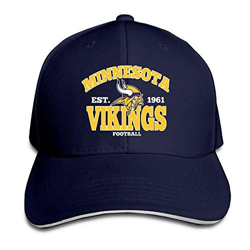MayDay Minnesota Vkings Sports Sandwich Hat Navy
