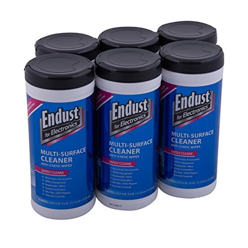 Endust LCD and Plasma Monitor Cleaner Pop-Up Wipes 70