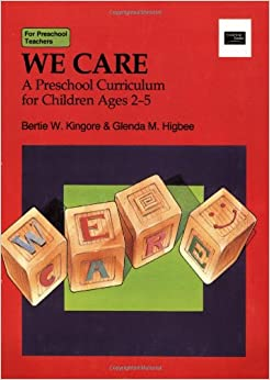 we care preschool we care a preschool curriculum for children ages 2 5 400