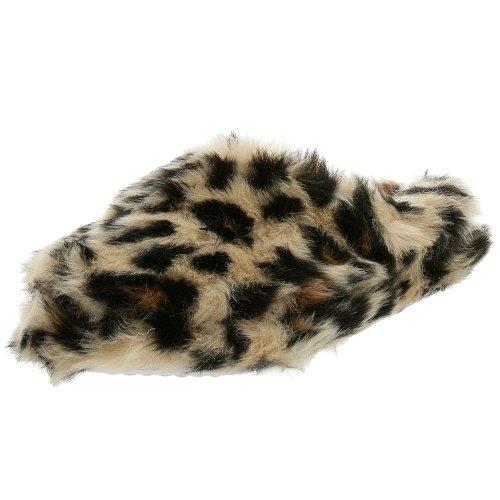 Cheap Ragg Toddler/Little Kid Leopard Plush Clog Slipper (B000TU6AQO)