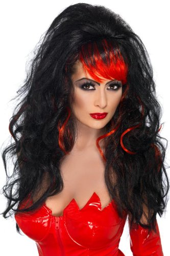 Smiffy's Seductress Wig Costume
