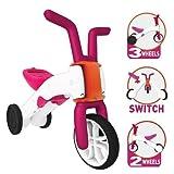 Chillafish Bunzi Gradual Balance Bike, Pink by Chillafish
