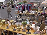 510n%2Bs3Um3L. SL160  Braderie, a French Car Boot Sale, Roscoff, Finistere, Brittany, France Photographic Poster Print by David Hughes, 12x16