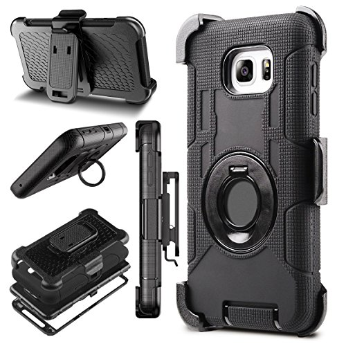 Note 5 Case, Galaxy Note 5 Case, BENTOBEN Samsung Galaxy Note 5 Case Shockproof Heavy Duty Hybrid Full Body Rugged Holster Protective Case for Samsung Galaxy Note 5