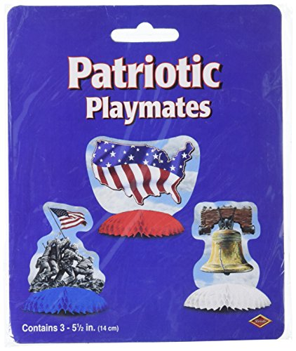 Patriotic Playmates   (3/Pkg)