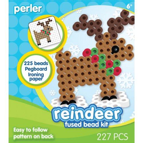 Perler Beads Fused Bead Kit - Reindeer - 1
